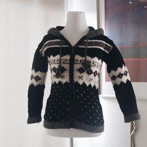 Other - Handmade Ecuadorian Knit Zipper Hoodie