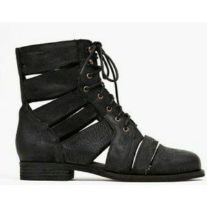 Jeffrey Campbell Shoes - Jeffrey Campbell slashed Moto boot 7.5 black