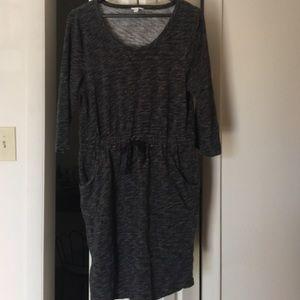 Sonoma Dresses & Skirts - Dark gray knit dress