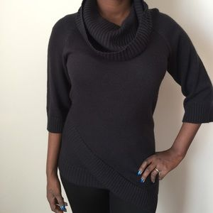 Design History Sweaters - Design History Cowl Neck Sweater