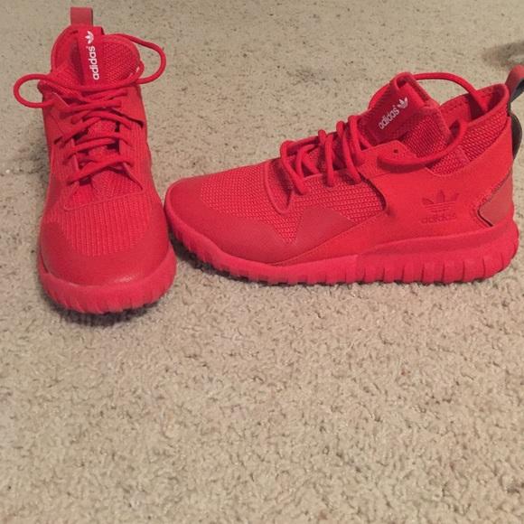adidas Shoes | All Red Adidas Tubular