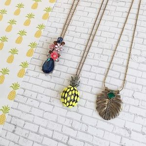 🍍Bundle of 3 pendants