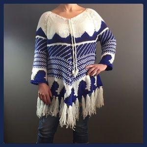 🌾Tunic / Sweater gorgeous detailed knit pattern