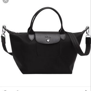 Longchamp Le Pliage Neo Small Black + strap