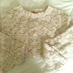 Belldini Sweaters - Pink Oatmeal Color Sweater by Belldini Size M