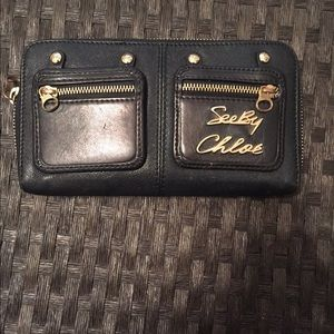 Authentic See by Chloe designer wallet