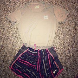 Nike Other - Top and bottoms running outfit.
