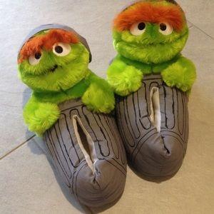 "Whimsical ""Oscar"" Slippers"