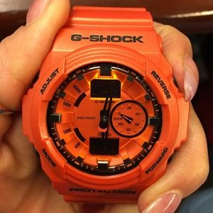 G-Shock Other - ⌚️G-Shock GA150A-4A Classic Red-Orange! ⌚️