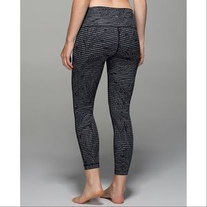 lululemon athletica Pants - NWT Lululemon High Times Stripe Play Skinny Pants