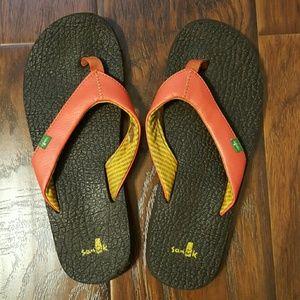 Sanuk Shoes - Sanuk Coral flip flops size 8.5