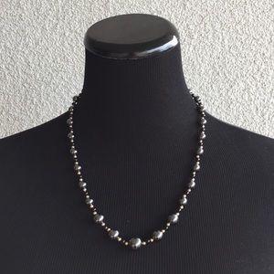 ea797cd25d0d06 Jewelry   14kt Yellow Gold Hematite Black Onyx Necklace   Poshmark