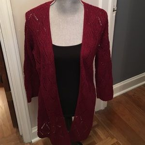 august silk Sweaters - Knit Cardigan