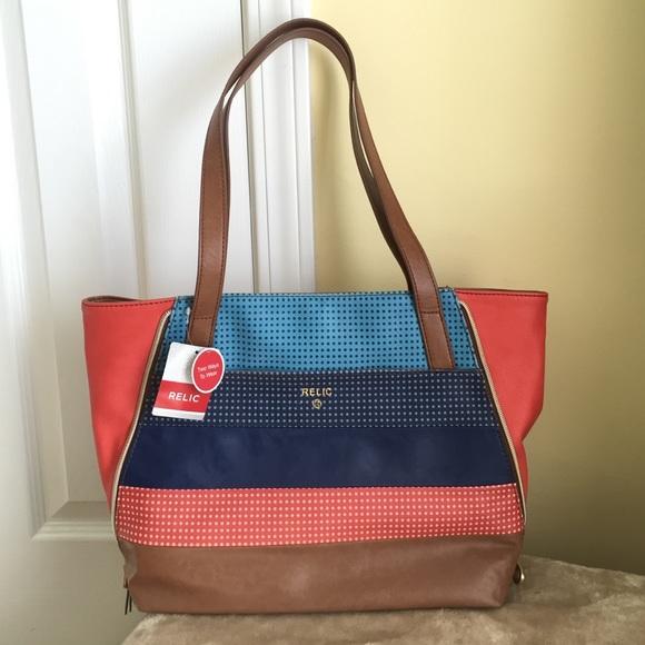 b69d453b14 Relic Emma Stylish MultiColor Tote Bag
