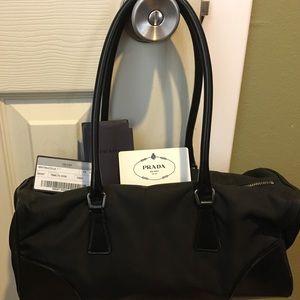 Prada Tessuto Black Handbag