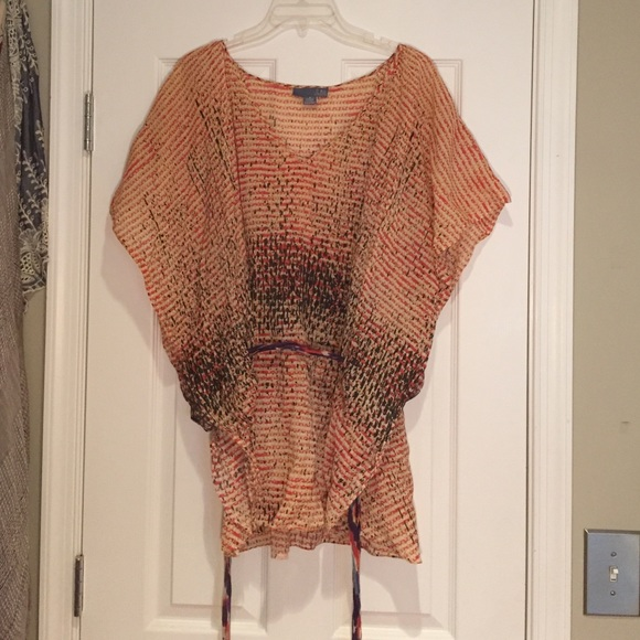 Anthropologie Tops - Colorful tunic from Anthropologie, Sz 8 (M/L)