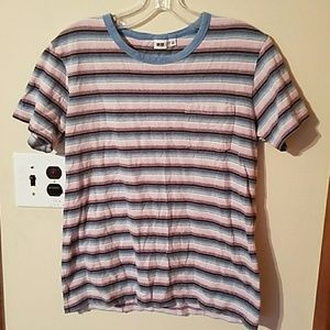 Uniqlo Other - Mens size Small striped pocket tee