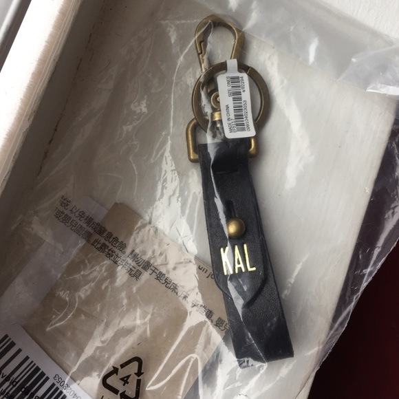 Madewell Front Door Key Fob With KAL Initials