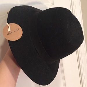 Jack & Lucy Bicoastal Wide Brim Black Hat