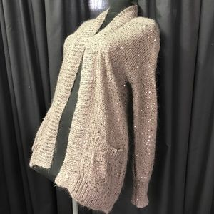 Express Sweaters - Small Express Cardigan sweater sequined