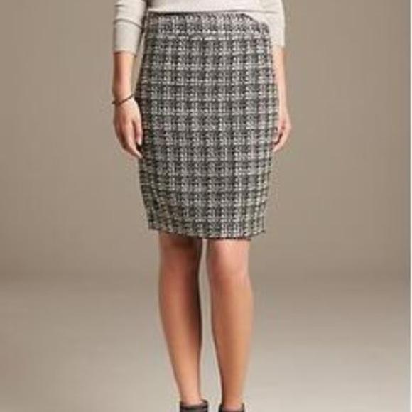 284a235ab1 Banana Republic Skirts | Knee Length Knit Pencil Skirt Very High ...