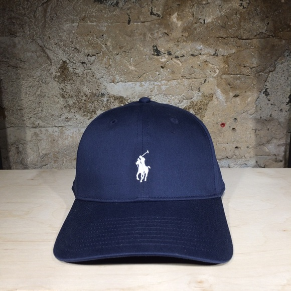 229af8a872e49 Ralph Lauren POLO Golf Fairway Twill Cap (Navy)