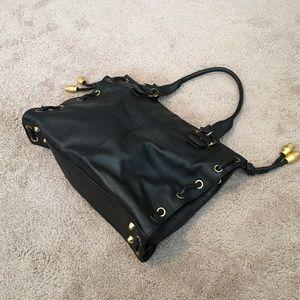 APC Handbags - Oversized Black APC Messenger Purse