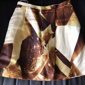 Carven Dresses & Skirts - Gold and beige carven skirt
