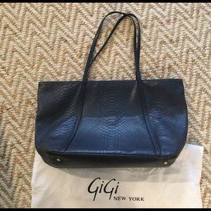 Gigi New York Jessica Zipper Tote