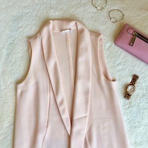 Lush Jackets & Blazers - Lush Blush Vest