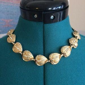 Hobé Jewelry - Vintage Hobé Gold Necklace LOW BALLS WELCOME😁