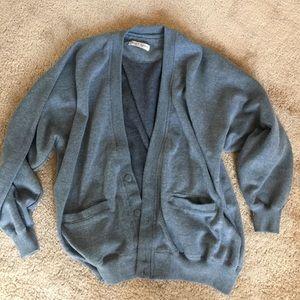Oversized Vintage Cardigan