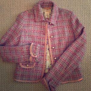 Abercrombie & Fitch Tweed Blazer