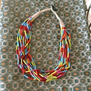 Vintage Jewelry - Colorful Beaded Necklace MAKE ME AN OFFER