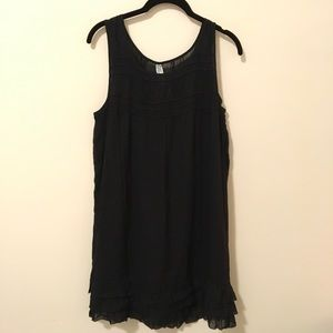 Anthropologie Dresses & Skirts - Maeve Anthropologie Black Sleeveless Cotton Dress