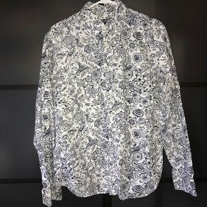 Todd Snyder Other - 🔥🔥🔥 Todd Snyder NYC floral birds shirt Men's M