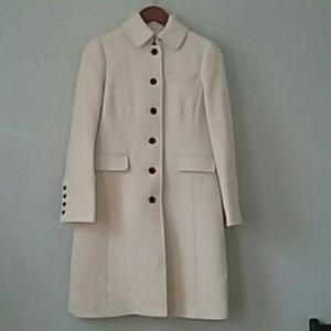 J Crew Double Cloth Metro Coat with Thinsulate