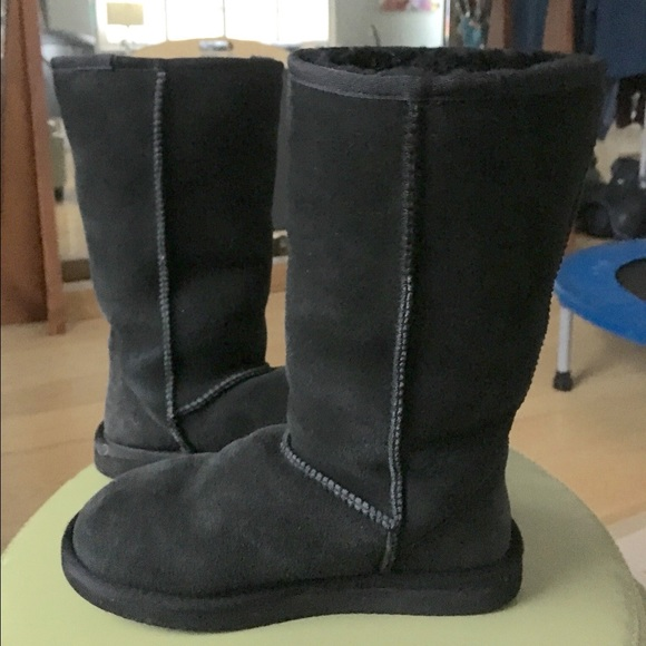 e9bbb7ec898 Ugg look alikes. They're actual sheepskin in & out