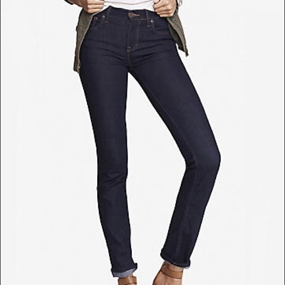 93% off Express Denim - Express Stella skinny jeans from Stormi's ...