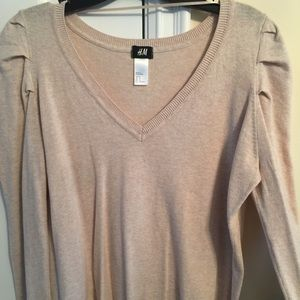 H&M sweater with darling shoulder detail