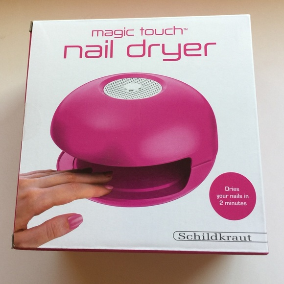 Other | 35 New Magic Touch Nail Dryer Pink Manicure | Poshmark