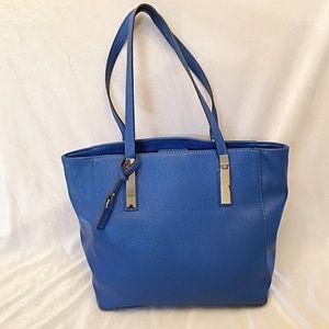 Nicole Miller Blue Tote Bag