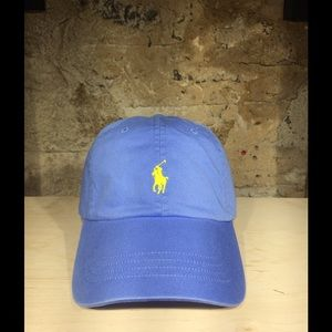Polo by Ralph Lauren Other - Ralph Lauren POLO Cotton Twill Cap (Blue)