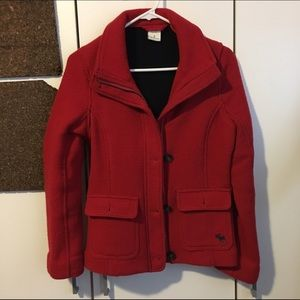 Abercrombie & Fitch wool jacket size S