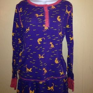 Pajamas, so cute with cats & mice on them, 2 pcs