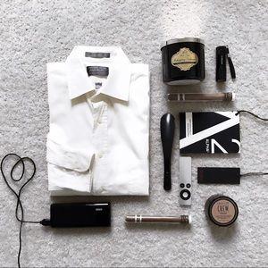 White men's dress shirt