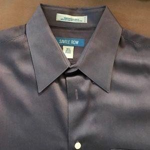 Men's blue dress shirt