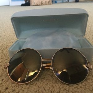 Karen Walker Accessories - Karen Walker giant circle frame sunglasses