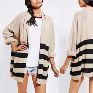 Urban Outfitters Sweaters - BDG Striped Parker Cardigan
