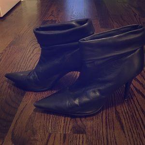BCBGirls Shoes - Black BCBGgirls ankle high boots with heel